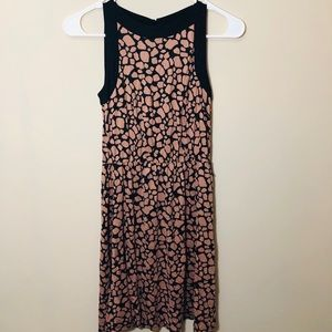 LOFT Dresses - LOFT Rose and Black Dress - XS